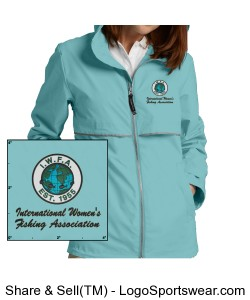 Womens New Englander Rain Jacket by Charles River Design Zoom