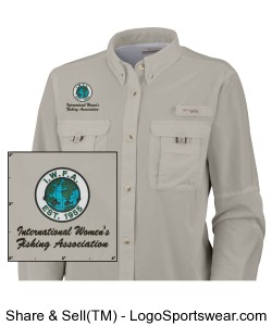 Columbia Womens Bahama II Long Sleeve Fishing Shirt Design Zoom