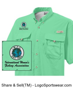 Columbia Bahama II Short Sleeve Fishing Shirt Design Zoom