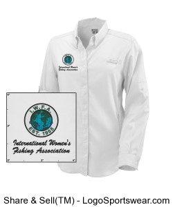 Columbia Ladies Tamiami II Long Sleeve Shirt Design Zoom